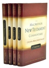 Pastoral Epistles Commentary Set, 4  Volumes: The MacArthur New Testament Commentary