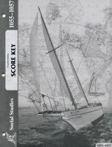 Grade 5 Social Studies PACE Score Key 1055-1057, 4th Edition