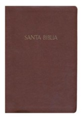 Biblia RVR 1960 Letra Gde. con Ref., Simil Piel Chocolate  (RVR 1960 Giant Print Ref. Bible, Dark Brown LeatherTouch)