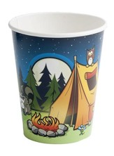 Camp Moose on the Loose: Campsite Cups, 8-pack