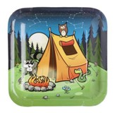 Camp Moose on the Loose: Campsite Plates, 8-pack