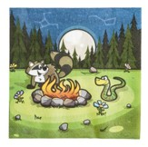 Camp Moose on the Loose: Campsite Lunch Napkins, 16-pack