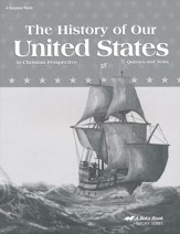 Abeka The History of Our United States in Christian  Perspective Quizzes and Tests