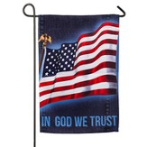 In God We Trust, Suede Flag, Small