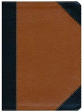 Holman Study Bible: NKJV Edition, Black and Tan LeatherTouch, Thumb-Indexed
