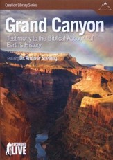Grand Canyon: Testimony to the Biblical Account of  Earth's History DVD