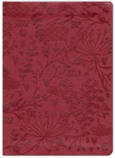 Abundant Life in Jesus: Devotions for Every Day of the Year--soft leather-look, burgundy