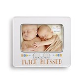 Twice Blessed, Twins Photo Frame