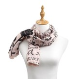 Grandma, Poetic Threads Scarf, Peach