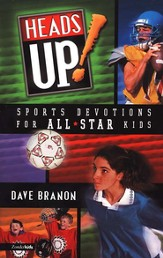 Heads Up!: Sports Devotions for All-Star Kids - eBook