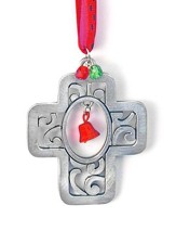 Cross with Bells Ornament