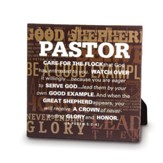 Pastor, Good Shepherd Plaque