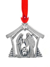 Art Deco Nativity Ornament
