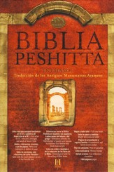 Biblia Peshitta, Piel Fabricada, Negro  (The Peshitta Bible, Bonded Leather, Black)