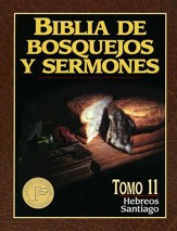 Biblia de Bosquejos y Sermones: Hebreos y Santiago  (The Preacher's Outline & Sermon Bible: Hebrews & James) - Slightly Imperfect