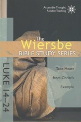 Luke 14-24, Wiersbe Bible Study