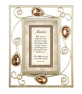 Mother, Proverbs 31:28 Framed Print