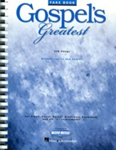 Gospel's Greatest, Songbook
