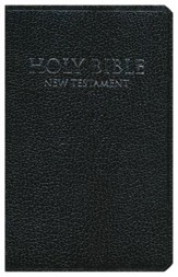 NIV Shirt Pocket New Testament, Imitation Leather,Black