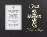 Faith, Hope & Love, Tabletop LED Box