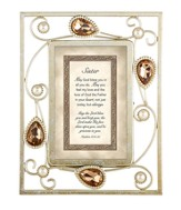 Sister, Numbers 6:24-25 Framed Print