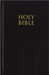 NIV Pew Bible, Hardcover, Black