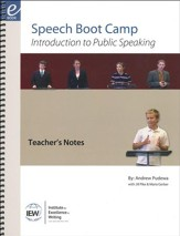 Speech Boot Camp Teacher's Notes and  Trainee Materials