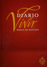 Biblia de Estudio Del Diario Vivir RVR 1960, Enc. Dura  (RVR 1960 Life Application Study Bible, Hardcover)