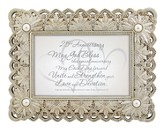 25th Anniversary, Song of Solomon Framed Print