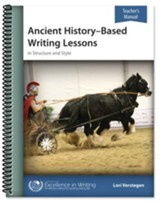 Ancient History-Based Writing Lessons (Teacher's Manual Only)