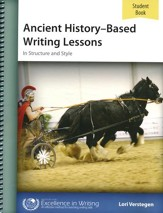 Ancient History-Based Writing Lessons, Fourth Edition, Student Book