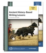 Ancient History-Based Writing Lessons, Fourth Edition--Teacher/Student Combo