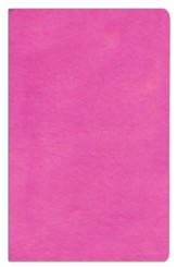 NIV Sleek and Chic Collection Bible, Flexcover, Posh Pink - Imperfectly Imprinted Bibles