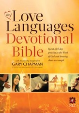 NLT Love Languages Devotional Bible, hardcover