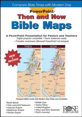 Then and Now Bible Maps: PowerPoint® CD-ROM