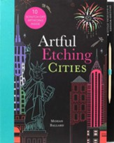 Artful Etching Scratch Art: Cities