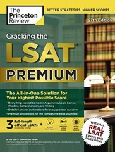 Cracking the LSAT Premium with 3 Real Practice Tests, 27th Edition: The All-in-One Solution for Your Highest Possible Score
