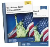 U.S. History-Based Writing Lessons Pack (Teacher/Student  Combo)