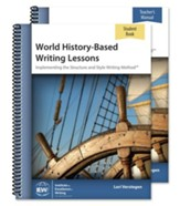 World History-Based Writing Lessons Pack (Teacher/Student  Combo Package)