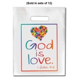 God is Love Goodie Bag, Pack of 12