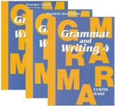 Saxon Grammar & Writing Grade 4 Kit (1st Edition)  - Slightly Imperfect