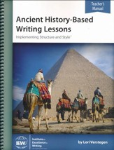 Ancient History-Based Writing  Lessons Teacher's Manual Only (5th Edition)