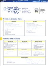 Grammar on the Go: A Handy Guide for Faultless Fixes to Writing with Structure and Style