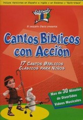 Cantos Bíblicos con Acción  (Bible Action Songs), DVD