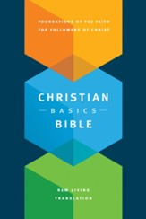 NLT Christian Basics Bible, Hardcover