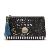 Love You to the Moon and Back, Always and Forever Cosmetic Pouch