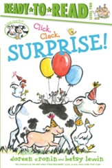 Click, Clack, Surprise!, hardcover
