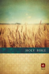 NLT Premium Value Slimline Bible, Large Print, Softcover - Slightly Imperfect