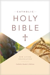 NLT Catholic Holy Bible, Reader's Edition - Slightly Imperfect