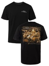 Family With A Calling Shirt, Black, Medium